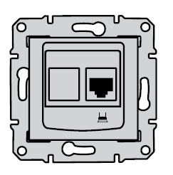 Компьютерная розетка sedna схема