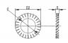 Шайба стопорная M6, INOX CM220600INOX DKC 0