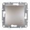 Механизм переключателя 1-клавишного, цвет белый, Asfora, Schneider Electric 0