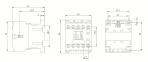 Миниконтактор МКИ-10611 6А 400В/АС3 1р (НЗ) IEK 0