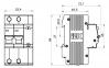 Дифференциальный автомат АД12 2Р 50 А 100 мА IEK, MAD10-2-050-C-100 0