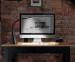 Настольный LED светильник Intelite Desklamp White (DL4-5W-WT) 2