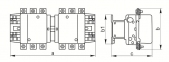 Контактор КТИ-52253 реверс 225А 400В/АС3 IEK 0