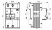 Дифференциальный автомат АД12М 2Р С25 30 мА IEK, MAD12-2-025-C-030 0