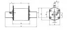 Предохранитель NH-1 Battery  125A 700V DC, 4723294, ETI 0