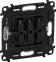 Лицевая панель для выключателя 3-клавишного, цвет слоновая кость, Legrand, Valena Life 0