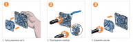 Механизм розетки RJ45 UTP 8к. кат. 5е, 2м., графит, Schneider Electric, Unica 2