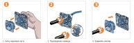 Механизм розетки RJ45 UTP 8к. кат. 5е, 1м., графит, Schneider Electric, Unica 2