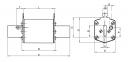 Предохранитель NH-1_K  Battery   63A 550V DC (с бойком), 4723281, ETI 0