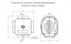 Зажим / сжим ответвляющий (орех) У733 (магистраль 16-35/отвод 1.5-10)мм.кв. 0
