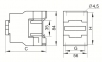 Контактор КМИ-22510 25А 110В/АС3 1з (НВ) IEK 1