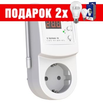 Терморегулятор в розетку для инфракрасных панелей terneo rz