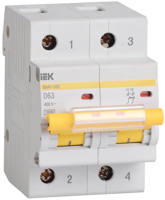 Автоматический выключатель ВА47-100