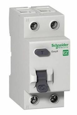 УЗО 2р 25А 30mA, тип AC, Easy9 Schneider Electric