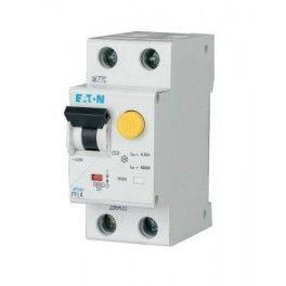 Дифференциальный автомат PFL4 1+N, 20A, 30mA, х-ка В, 4,5кА, тип AС Eaton | Moeller, 293292