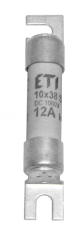 Предохранитель CH SU 10x38 gPV  2A 1000V (30kA), 2625115, ETI