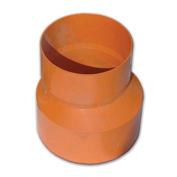 Соединительная муфта-редукция для дренажных труб полипропилен, желтый, диаметр вн., мм 110-125 024125 DKC