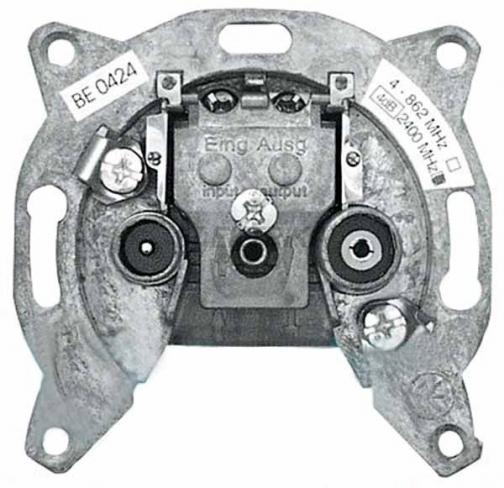 Механизм компьютерной розетки RJ-45, слоновая кость, Hager Fiorena
