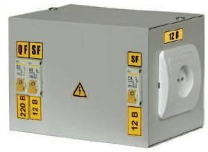 Ящик с понижающим трансформатором ЯТП-0,25 220/12-2 36 УХЛ4 IP30, IEK