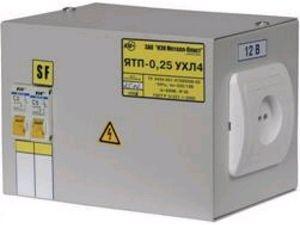 Ящик с понижающим трансформатором ЯТП-0,25 220/42-2 36 УХЛ4 IP30, IEK