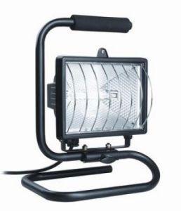 Прожектор ИО 500П (переноска) галогенный черный