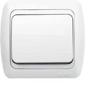 Выключатель 1-кл EL-BI TUNA белый