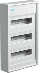 Щит пластиковый 36-42 модулей накладной без двери, IP30, VA36CN Hager Volta