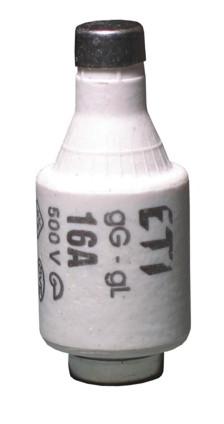 Предохранитель D II DZ 16A/500V (E27), 2312105, ETI
