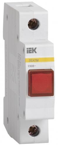Сигнальная лампа ЛС-47М со светодиодной матрицей красная, IEK