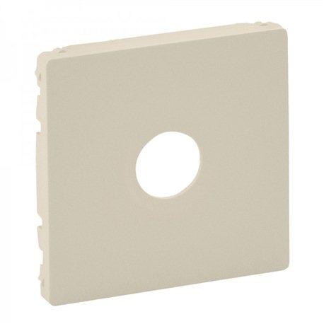 Лицевая панель для розетки TV проходная, 2400 МГц 14дб, цвет слоновая кость, Legrand, Valena Life