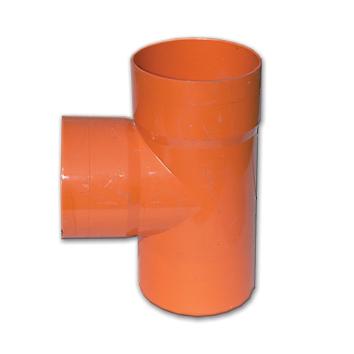 Тройник 45° для дренажных труб и б/н канализации, полипропилен, желтый, диаметр вн., мм 125 020125 DKC