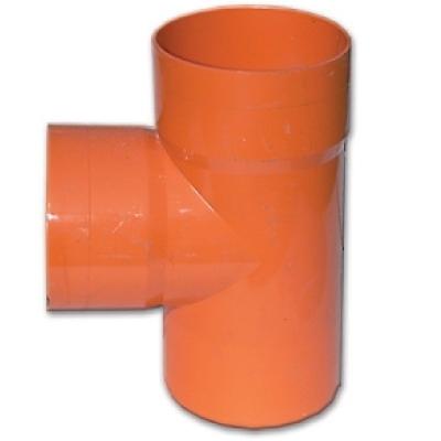 Тройник 90° для дренажных труб, д.125мм 20125, DKC