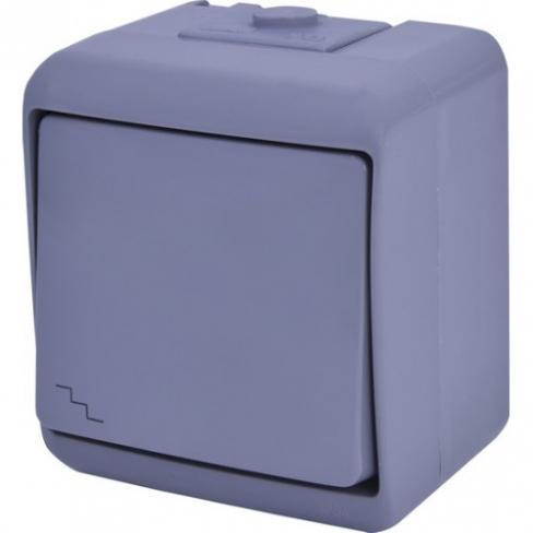 Выключатель 2-клавишный (коричневый) (IP54) VHE-2-KR 4668041