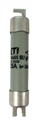 Предохранитель CH 14x65 gPV 25A 1000V (10kA), 2637129, ETI