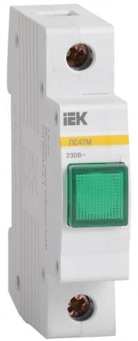 Сигнальная лампа ЛС-47М со светодиодной матрицей зеленая, IEK