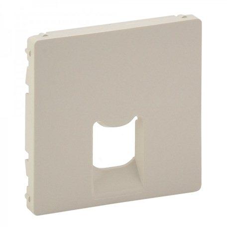 Лицевая панель для розетки компьютерной RJ45 кат, 5 UTP 1-ная, цвет слоновая кость, Legrand, Valena Life
