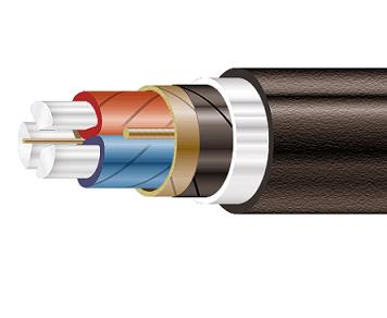 Высоковольтный кабель ААШв-10 3*95