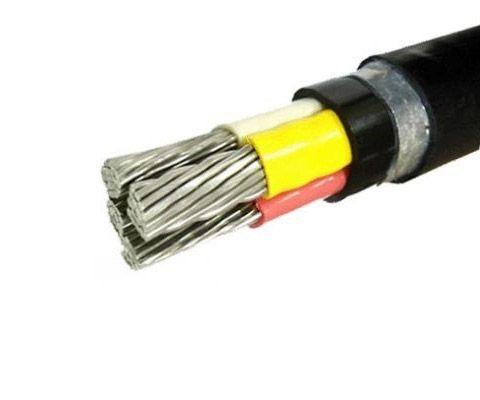 Силовой бронированный кабель АВбБШв 3х10+1х6 (3*10+1*6)