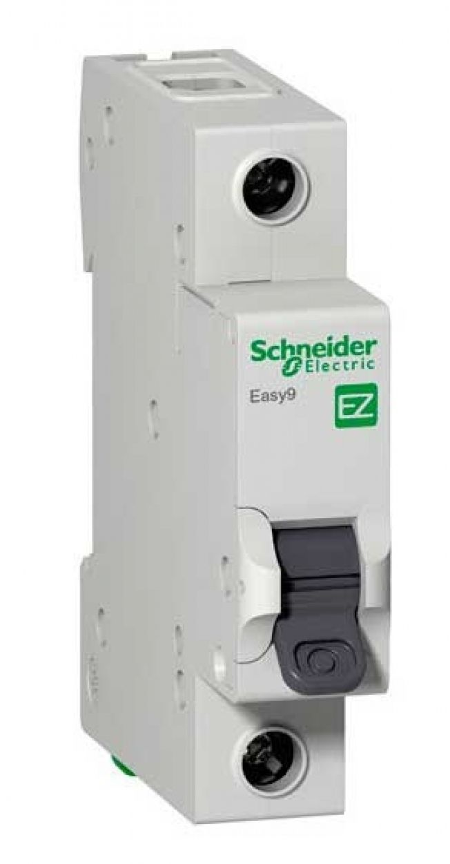 Автоматический выключатель Easy9 1p 25A, х-ка C, 4.5кА Schneider Electric, EZ9F34125