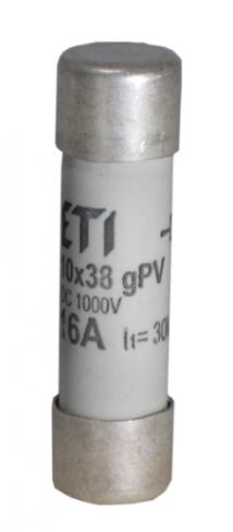 Предохранитель CH 10x38 gPV 16A 1000V (30kA), 2625081, ETI