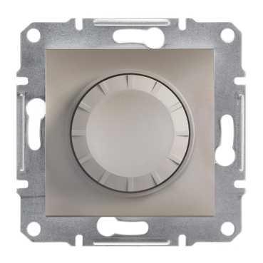 Механизм светорегулятора 600 Вт, цвет бронза, Asfora, Schneider Electric