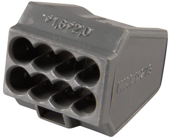 Клеммники Ваго для распределительных коробок серии 273 на 8 проводников 1,0-2,5 мм2