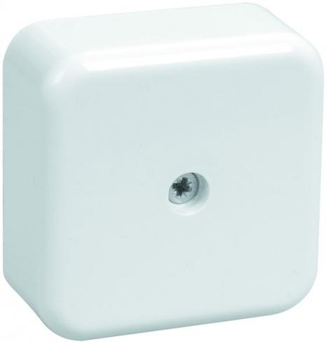 Коробка КМ41206-01 распаечная для о/п 50х50х20мм белая