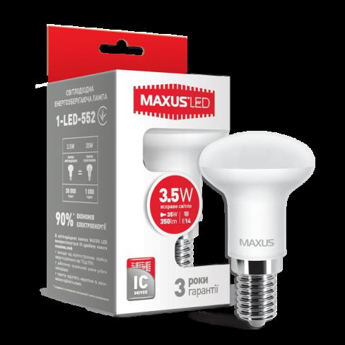 Рефлекторная лампа LED лампа MAXUS R39 3.5W яркий свет 220V E14 (1-LED-552) (NEW)