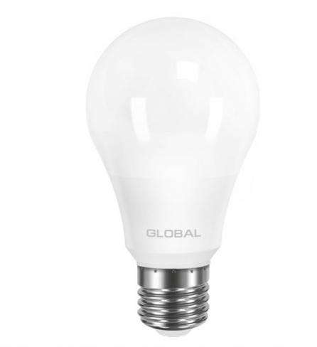 Лампа общего назначения LED лампа GLOBAL A60 8W мягкий свет 220V E27 AL (1-GBL-161) (NEW)