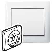 Лицевая панель акустической розетки Legrand Galea Life 771000 (белая)