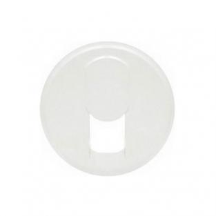 Лицевая панель для розетки RJ-11 телефонная, цвет белый, Legrand Celiane