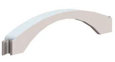 Адаптер напольного кабель-канала 50х12.0мм, для соединения с башенками BUS, колоннами, пластик, цвет черный, 05917, серия In-liner Front, DKC