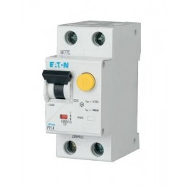 Дифференциальный автомат PFL4 1+N, 16A, 30mA, х-ка С, 4,5кА, тип AС Eaton | Moeller, 293298