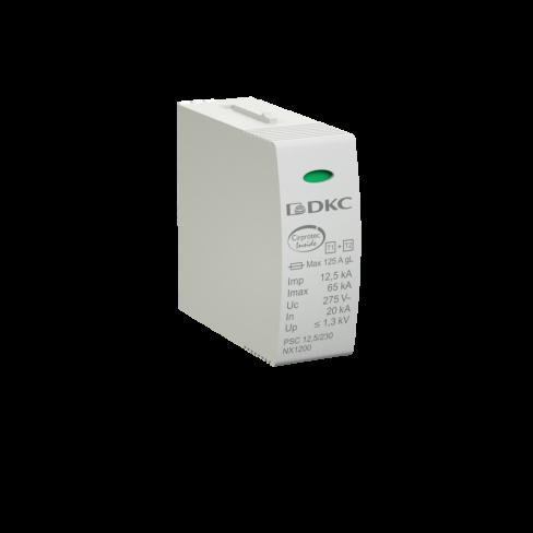 Сменный модуль к УЗИП, классс I+II, L-N, DKC, NX1200